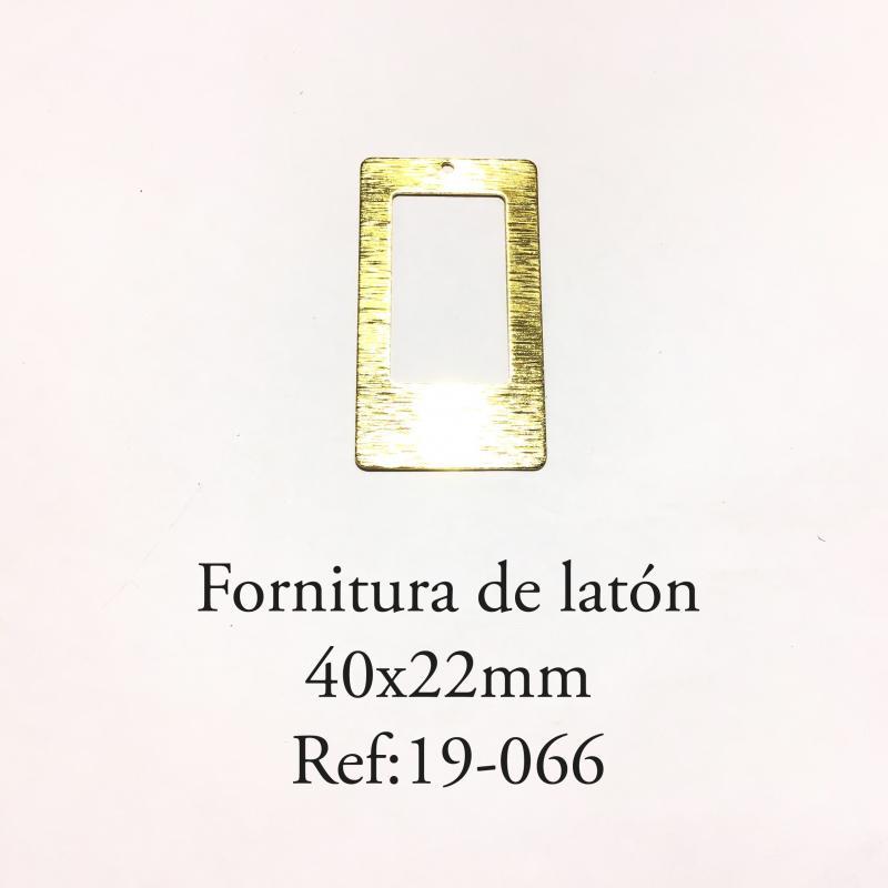 Fornitura de latón  - 40x22mm