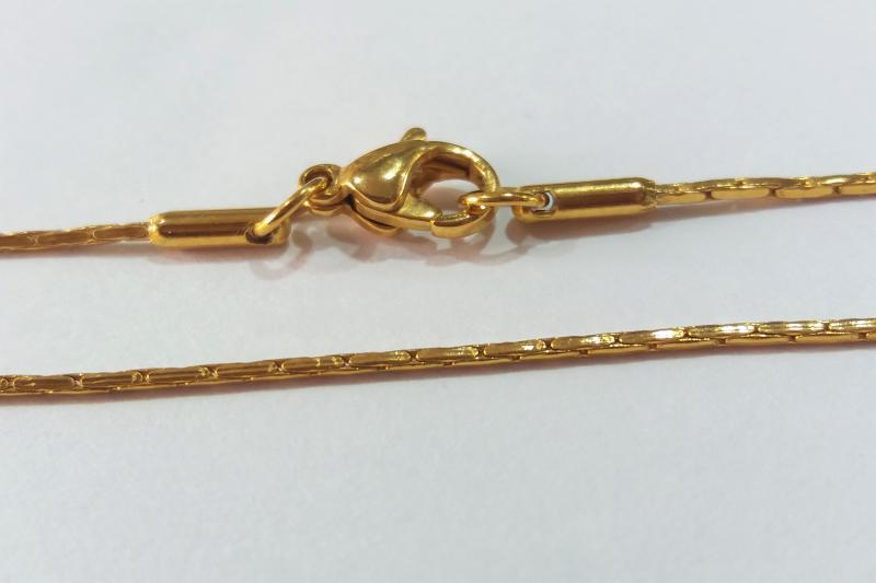 Cadena de acero inoxidable 45 cm