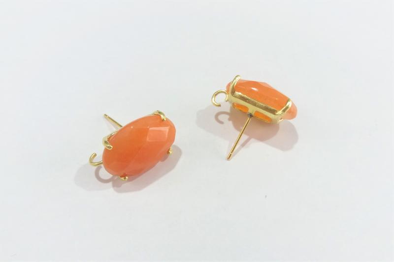 Base de Pendiente naranja ovalo