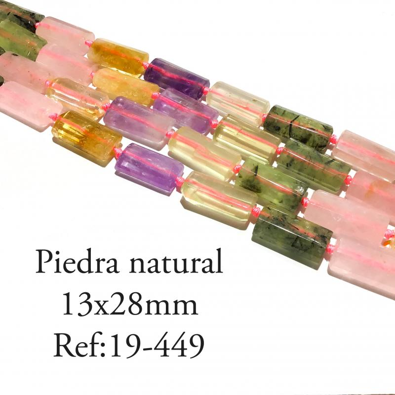 Piedra natural multi color