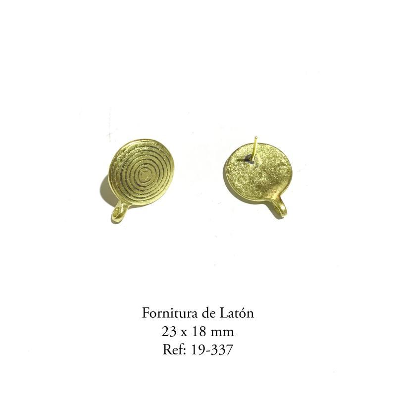Fornitura de Latón  - 23 x 18 mm