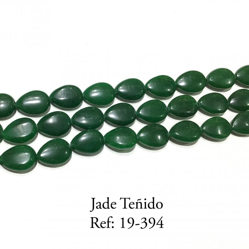 Jade Teñido Gota Plana Lisa