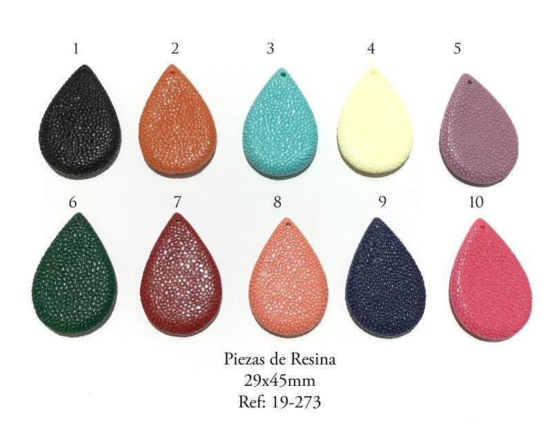 Piezas de Resina