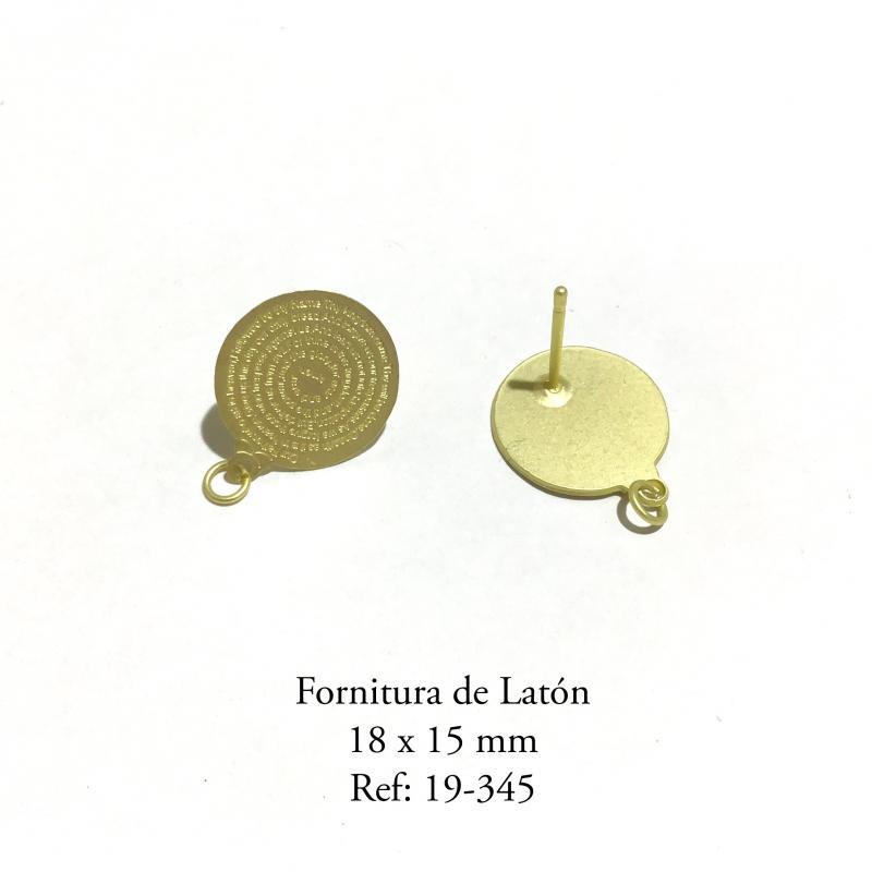 Fornitura de Latón  - 18 x 15 mm