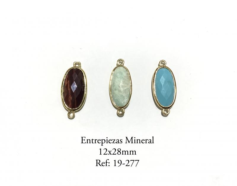 Entrepiezas Mineral - 12 x 28 mm