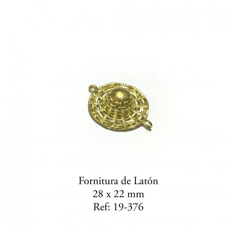 Fornitura de Latón  - 28 x 22 mm