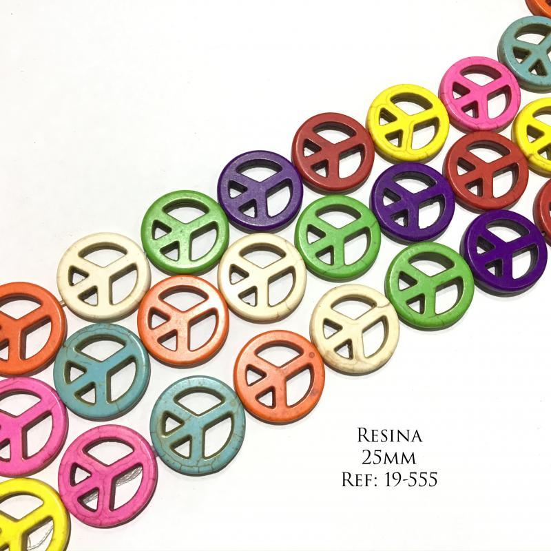 Resina multicolor