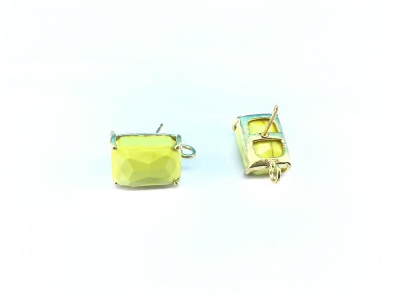 Pendientes de cristal