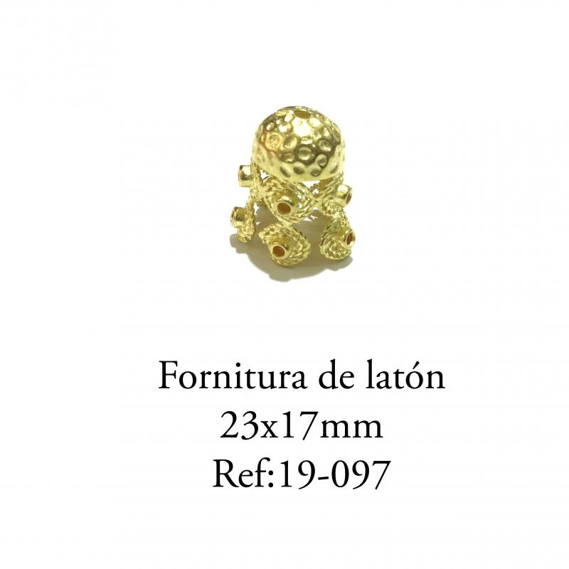 Fornitura de latón  - 23x17mm