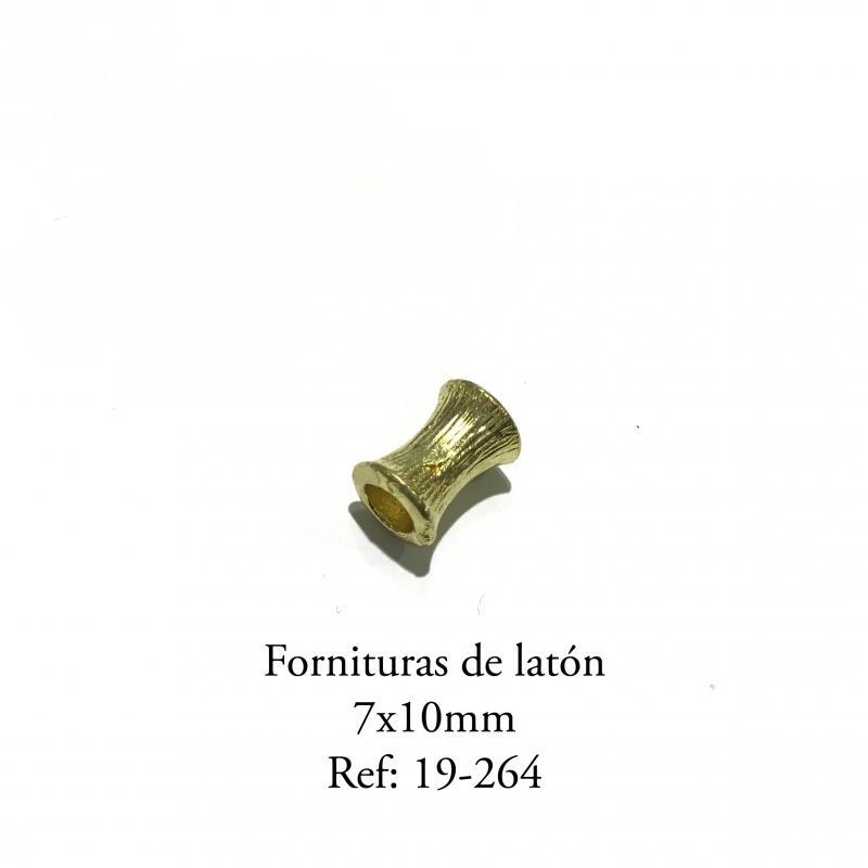 Fornituras de Latón  - 7 x 10mm