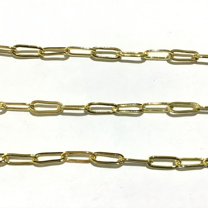 Cadena de Latón Baño de Oro 18k