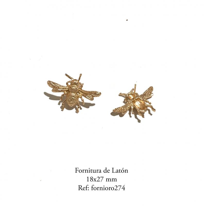 Fornitura de latón abeja (pendientes)