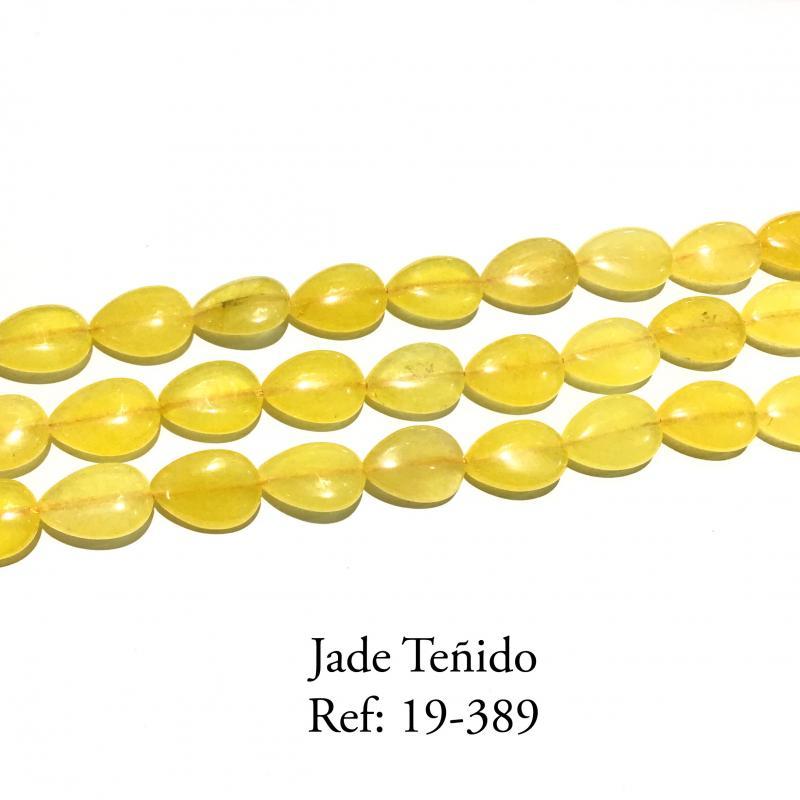 Jade Teñido Gota Plana Liso