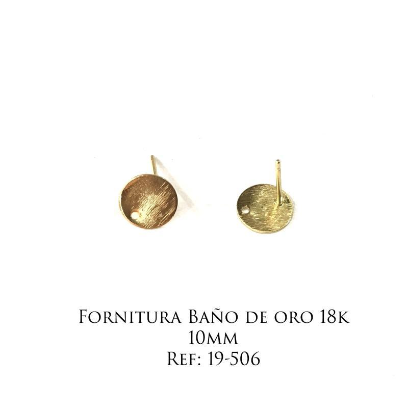 Fornitura Baño de Oro 18k