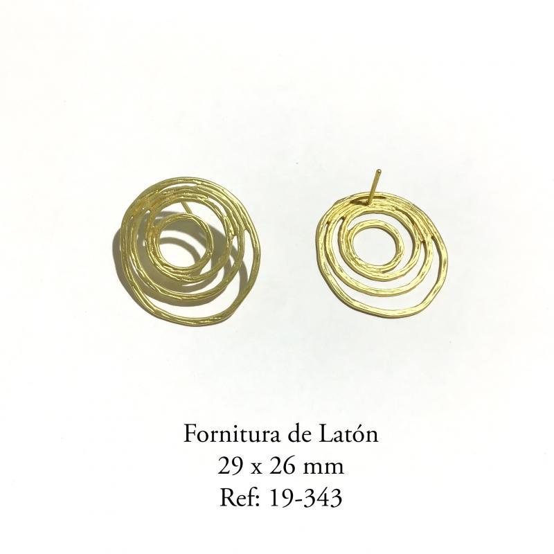 Fornitura de Latón  - 29 x 26 mm