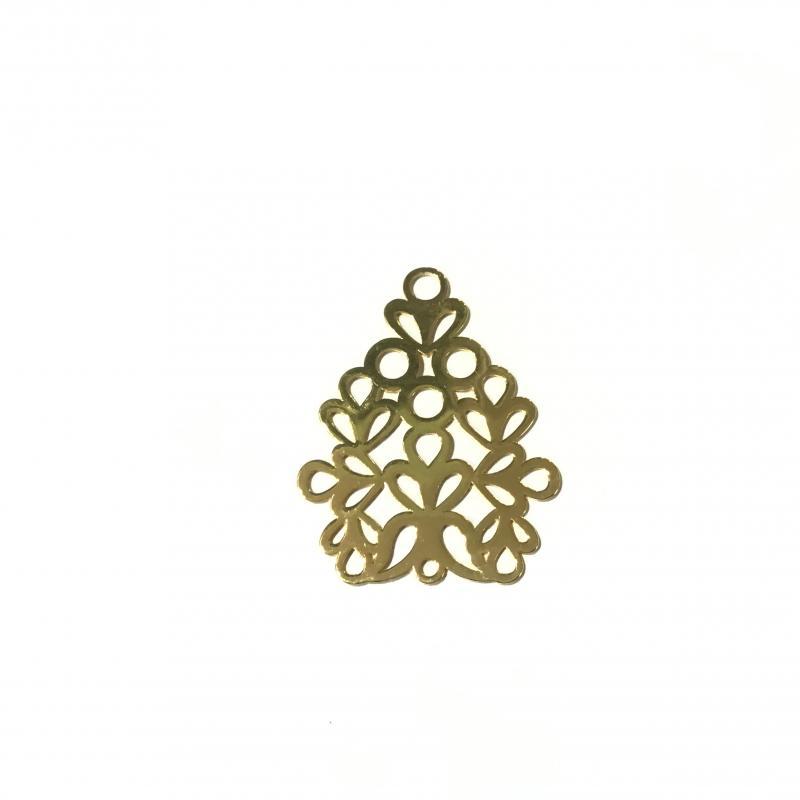 Fornitura Baño de oro18k - 50x38
