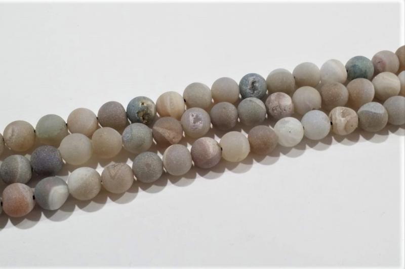 Piedra geoda grises claros