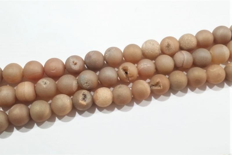 Piedra geoda beige