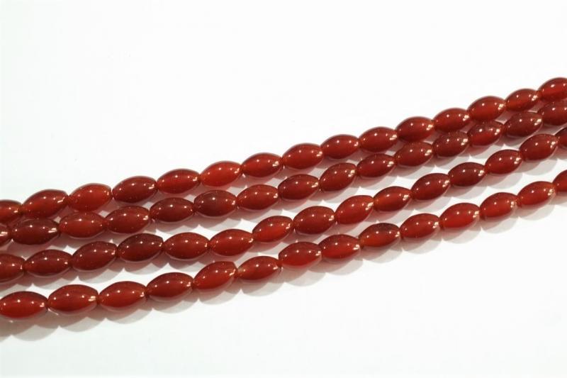 Piedra roja 6x9mm